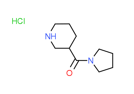 3-Piperidinyl(1-pyrrolidinyl)methanone^hydrochloride