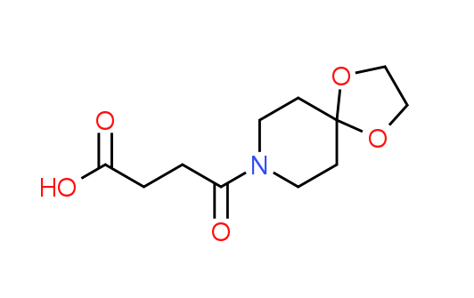 4-(1,4-Dioxa-8-azaspiro[4.5]dec-8-yl)-4-oxobutanoic acid