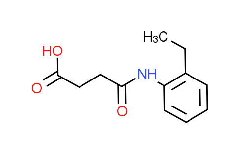4-[(2-Ethylphenyl)amino]-4-oxobutanoic acid