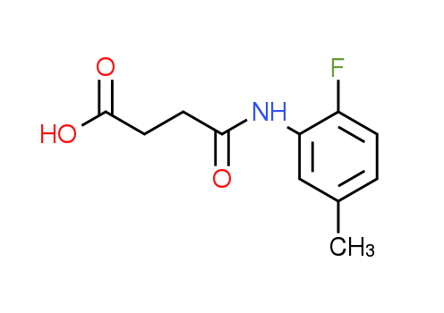 4-[(2-Fluoro-5-methylphenyl)amino]-4-oxobutanoic acid
