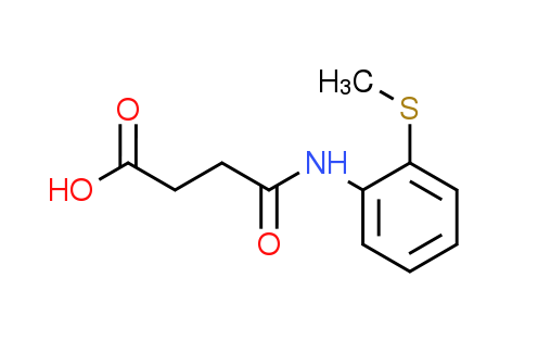 4-{[2-(Methylthio)phenyl]amino}-4-oxobutanoic acid
