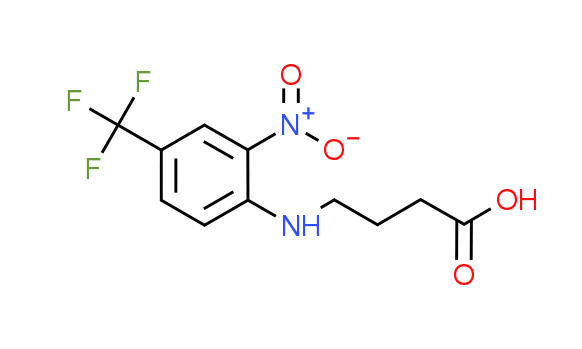 4-[2-Nitro-4-(trifluoromethyl)anilino]-butanoic acid