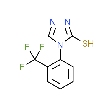 4-[2-(Trifluoromethyl)phenyl]-4H-1,2,4-triazole-3-thiol