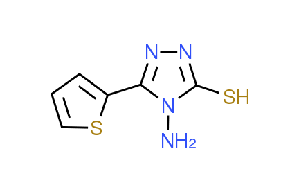 4-Amino-5-(2-thienyl)-4H-1,2,4-triazole-3-thiol