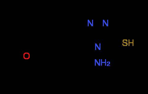 4-Amino-5-(4-methoxyphenyl)-4H-1,2,4-triazole-3-thiol