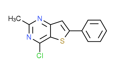 4-Chloro-2-methyl-6-phenylthieno[3,2-d]pyrimidine