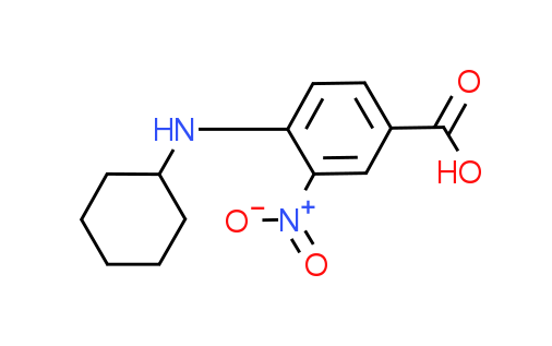 4-(Cyclohexylamino)-3-nitrobenzoic acid