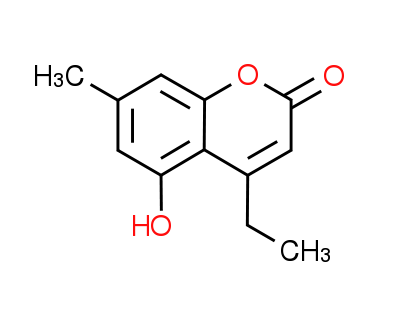 4-Ethyl-5-hydroxy-7-methyl-2H-chromen-2-one