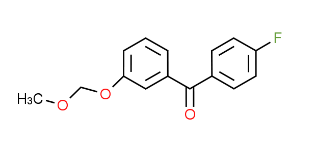 (4-Fluorophenyl)[3-(methoxymethoxy)phenyl]-methanone