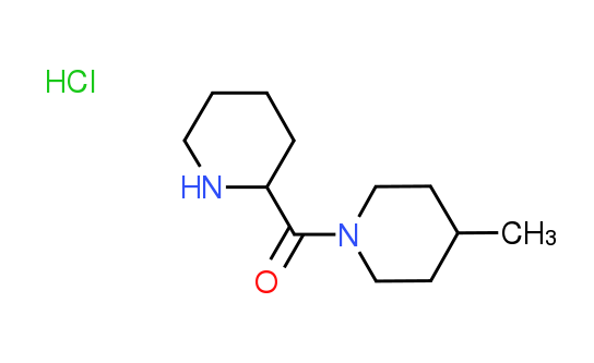(4-Methyl-1-piperidinyl)(2-piperidinyl)methanone^hydrochloride