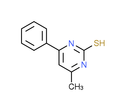 4-Methyl-6-phenylpyrimidine-2-thiol
