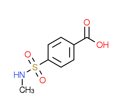 4-[(Methylamino)sulfonyl]benzoic acid