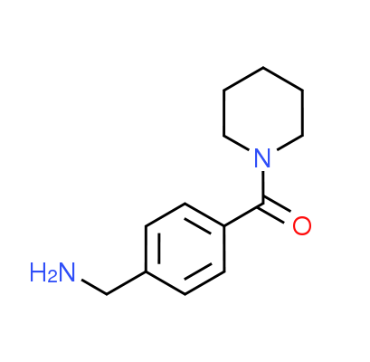 [4-(Piperidin-1-ylcarbonyl)benzyl]amine