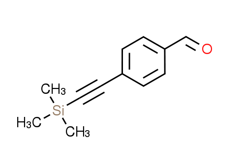 4-[(Trimethylsilyl)ethynyl]benzaldehyde