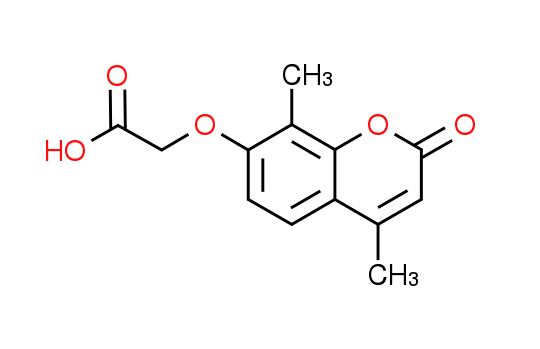 [(4,8-Dimethyl-2-oxo-2H-chromen-7-yl)oxy]-acetic acid