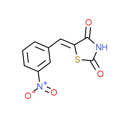 5-[(3-Nitrophenyl)methylene]-1,3-thiazolane-2,4-dione