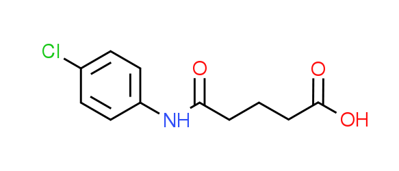 5-[(4-Chlorophenyl)amino]-5-oxopentanoic acid