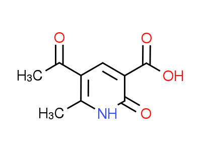 5-Acetyl-6-methyl-2-oxo-1,2-dihydropyridine-3-carboxylic acid