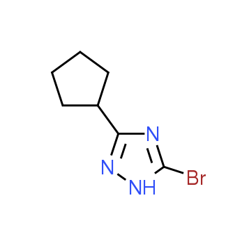 5-Bromo-3-cyclopentyl-1H-1,2,4-triazole