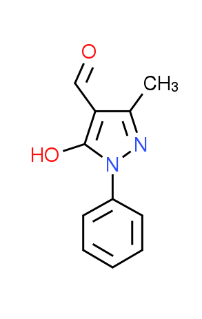 5-Hydroxy-3-methyl-1-phenyl-1H-pyrazole-4-carbaldehyde