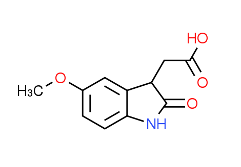 (5-Methoxy-2-oxo-2,3-dihydro-1H-indol-3-yl)-acetic acid