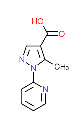 5-Methyl-1-pyridin-2-yl-1H-pyrazole-4-carboxylic acid