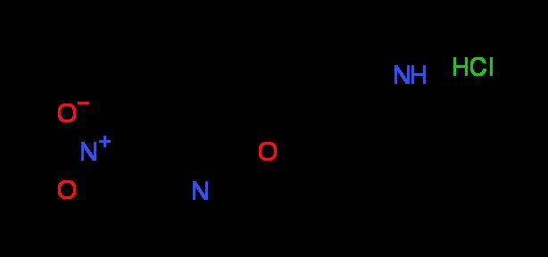 5-Nitro-2-(3-piperidinylmethoxy)pyridine^hydrochloride