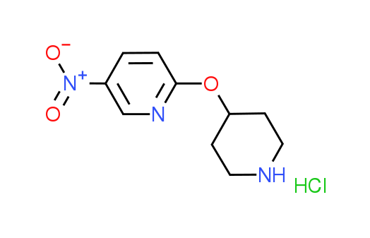 5-Nitro-2-(4-piperidinyloxy)pyridine hydrochloride