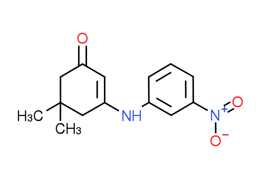 5,5-Dimethyl-3-[(3-nitrophenyl)amino]-cyclohex-2-en-1-one