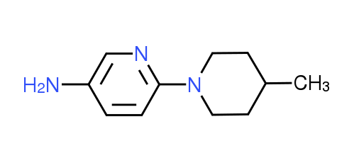 6-(4-Methyl-1-piperidinyl)-3-pyridinylamine