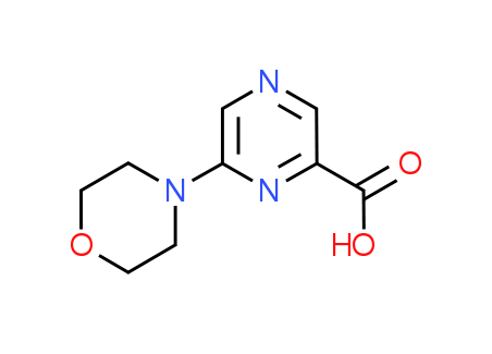 6-(4-Morpholinyl)-2-pyrazinecarboxylic acid