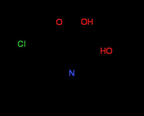 6-Chloro-2-(2-hydroxyphenyl)quinoline-4-carboxylic acid