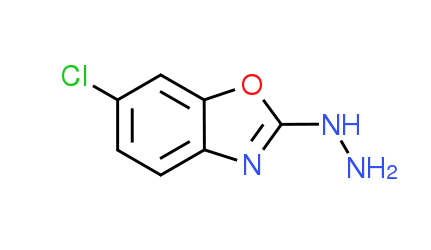 6-Chloro-2-hydrazino-1,3-benzoxazole