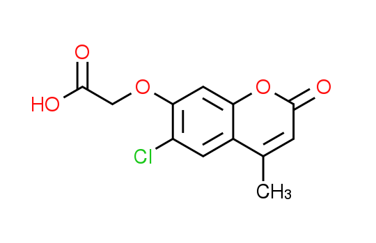 [(6-Chloro-4-methyl-2-oxo-2H-chromen-7-yl)oxy]-acetic acid