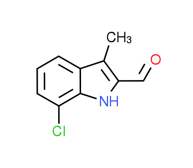 7-Chloro-3-methyl-1H-indole-2-carbaldehyde
