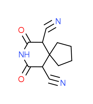 7,9-Dioxo-8-azaspiro[4.5]decane-6,10-dicarbonitrile