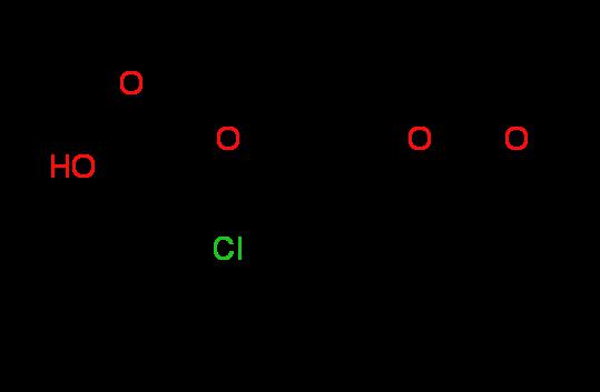 [(8-Chloro-4-oxo-1,2,3,4-tetrahydrocyclopenta-[c]chromen-7-yl)oxy]acetic acid