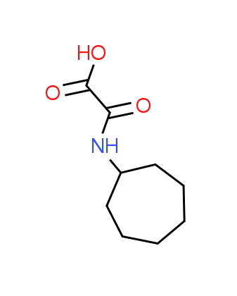 (Cycloheptylamino)(oxo)acetic acid
