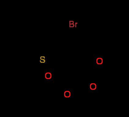 Diethyl 2-{[3-(bromomethyl)-2-thienyl]-methylene}malonate