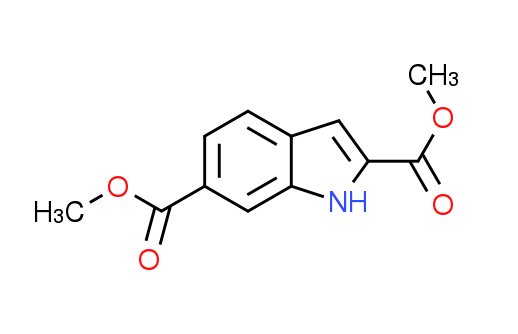 Dimethyl 1H-indole-2,6-dicarboxylate