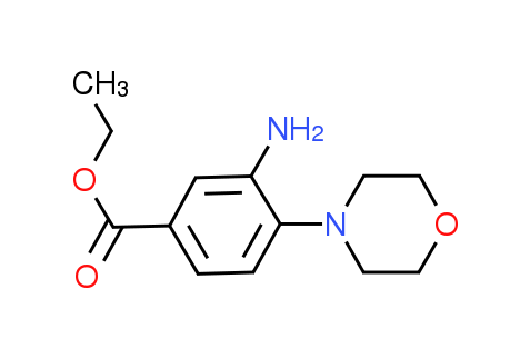 Ethyl 3-amino-4-(4-morpholinyl)benzoate