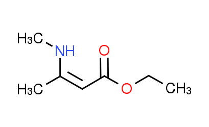 Ethyl 3-(methylamino)-2-butenoate