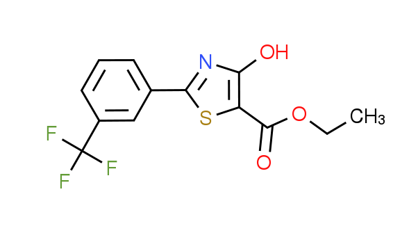 Ethyl 4-hydroxy-2-[3-(trifluoromethyl)phenyl]-1,3-thiazole-5-carboxylate
