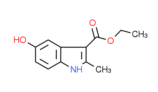Ethyl 5-hydroxy-2-methyl-1H-indole-3-carboxylate