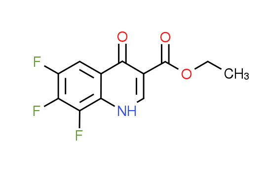 Ethyl 6,7,8-trifluoro-4-oxo-1,4-dihydroquinoline-3-carboxylate