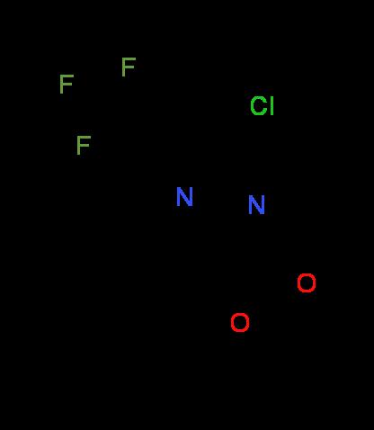 Ethyl 8-chloro-6-(trifluoromethyl)imidazo[1,2-a]-pyridine-2-carboxylate