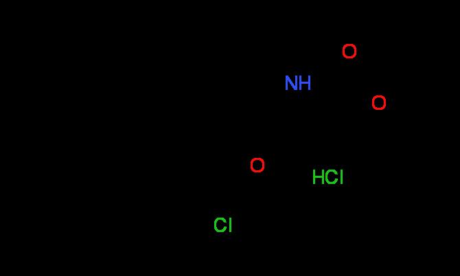 Methyl (2S,4S)-4-[2-chloro-4-(1-methyl-1-phenyl-ethyl)phenoxy]-2-pyrrolidinecarboxylate HCl