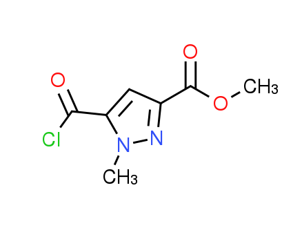 Methyl 5-(chlorocarbonyl)-1-methyl-1H-pyrazole-3-carboxylate