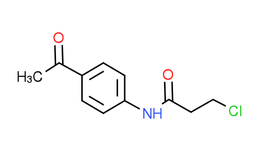 N-(4-Acetylphenyl)-3-chloropropanamide