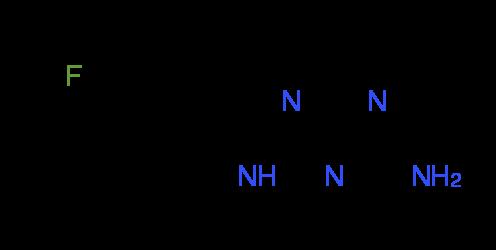 N-(4-Fluorophenyl)-1,3,5-triazine-2,4-diamine